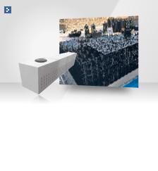 大型雨水貯留浸透システム