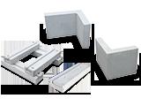 OK式レールブロック・消火栓L型ブロック