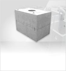 水道機器用大型コンクリートボックス