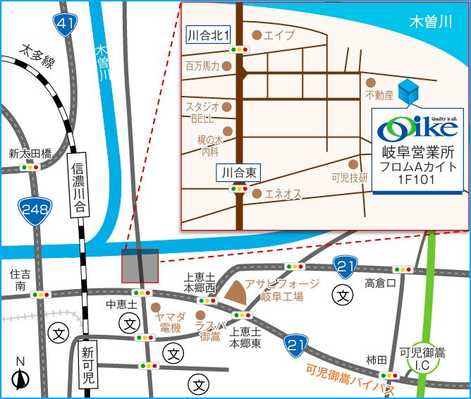 東京営業所 地図