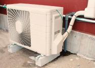 空調用ブロック設置例