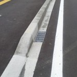 エプロン付歩車道境界ブロック >社会資本整備総合交付金事業吉田原通線道路改良工事