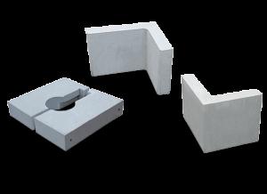 ベースブロック    L型ブロック