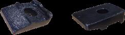 OKレールクリップ OKレールベースに対応するレール固定金具