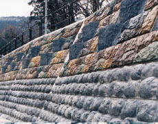 国土交通省姫川災害復旧工事