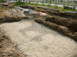(2)敷き砂
